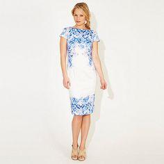 Damsel in a dress Blue China Print Alec Dress- at Debenhams.com