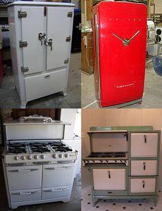 vintage appliances | Creating a Vintage Space - Vintage Interior Design | Styleture.com