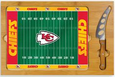 Use this Exclusive coupon code: PINFIVE to receive an additional 5% off the Kansas City Chiefs Icon Cheese Board at SportsFansPlus.com