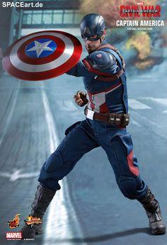 Captain America 3: Captain America, PVC Figur ... https://spaceart.de/produkte/cam010.php