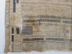 Susie Gillespie   antique linen yarn + Himalayan nettle + home grown flax   near Paignton, Devon, England, U.K.