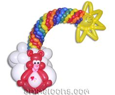 "It says ""Bear & Rainbow"" but we all know it's a Care Bear... :)"