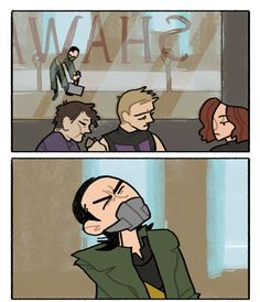Avengers - Loki parked (gif) in get ready for a lot of orange