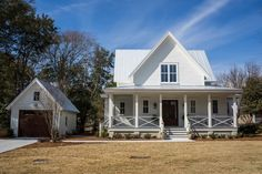 Southern Living's Four Gables house plan with pictures of the inside.
