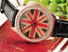 Wholesale Product Snapshot Product name is W3 Min.Order $8 (Mix Order) Free Shipping Wholesale Fashion 9 Colors Leather British Flag Women W...