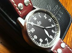 SOLDDDD :: LACO Type A Flieger Pilot's Watch - 42mm, Auto, Made in Germany