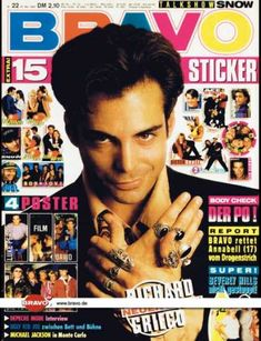 Richard Grieco, Full Page Vintage Clipping, Shirtless ...