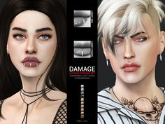 sims 4 cc // custom content accessories // The Sims Resource // . - sims 4 cc // custom content accessories // The Sims Resource // // Pralinesims' D - Middle Lip Piercing, Lip Piercing Stud, Piercing Girl, Septum, Guys With Lip Piercings, Different Lip Piercings, Sims 4 Piercings, Tongue Piercings, Cartilage Piercings