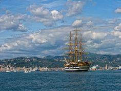 Le Tall Ships arrivano nel golfo di La Spezia per la Festa della Marineria, La Spezia - porti e logistica