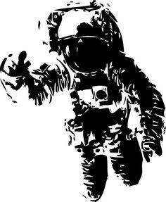 Banksy Astronaut Stencil