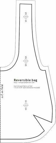 Reversible bag pattern - I have JUST the fabric for this!Reversible bag pattern - if I ever dig out the sewing machine.eHow's got a great pattern for a hobo bag if you're into the Sewing thing.reversible bag pattern ~ machine quilting this will make Sewing Hacks, Sewing Tutorials, Sewing Patterns, Hobo Bag Tutorials, Apron Patterns, Fabric Crafts, Sewing Crafts, Sewing Projects, Diy Crafts