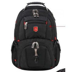 2017 Brand Swiss Men's Backpack female Travel School Bag for quality Laptop Notebook Computer bagpack waterproof Business Men's Backpack, North Face Backpack, Travel Luggage, Travel Bags, 17 Inch Laptop, Clothing Deals, Fashion Leaders, School Backpacks, Online Shopping Stores