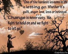 Change/Letting Go