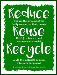 Reduce Reuse Recycle Anchor Chart School Earth Poster Recycling For Kids Recycling