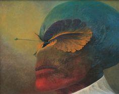 Beksinski - 1981, 62 x 74,5 cm