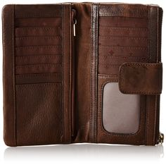 Fossil Emory Wallet,Espresso,One Size