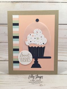 70 super Ideas birthday wishes cake happy stampin up Birthday Crafts, Handmade Birthday Cards, Birthday Recipes, Birthday Wishes Cake, Happy Birthday, Birthday Kids, Husband Birthday, Birthday Images, Birthday Cupcakes