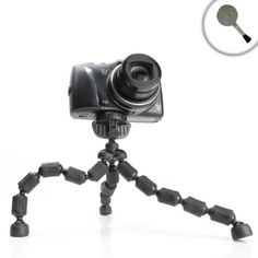 Adjustable Zoom Camera/Camcorder Tripod with Flexible Legs & Quick Release for Sony Cyber-shot DSC-RX1R , DSC-RX100 II , DSC-HX50V , DSC-WX300 , DSC-W690 , DSC-HX50V , DSC-HX200V , DSC-TX20 and Many More Sony Digital Cameras