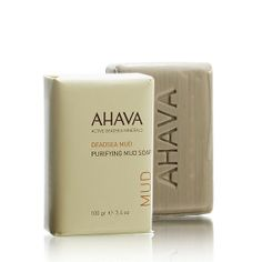 Purifying Mud Soap from Ahava. Shop now on www.DooBop.com