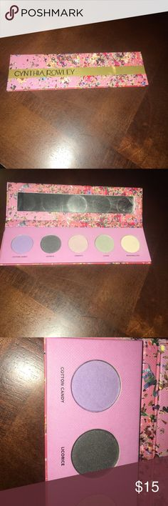 Cynthia Rowley eyeshadow. Only used a few times. Beautiful spring and summer colors. Barely used. Cynthia Rowley Makeup Eyeshadow