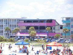 Fannie's on the Beach in Tybee Island.  LOVE Tybee Island!!!!