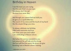 3/16/13 will be your first birthday in Heaven. I miss you so much mommy!!!!
