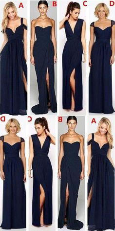Bridesmaid Dresses Sexy, Navy Blue Bridesmaid Dresses, Cheap Bridesmaid Dresses, Chiffon Bridesmaid Dresses, Bridesmaid Dresses Blue #BridesmaidDressesSexy #NavyBlueBridesmaidDresses #CheapBridesmaidDresses #ChiffonBridesmaidDresses #BridesmaidDressesBlue Bridesmaid Dresses 2018