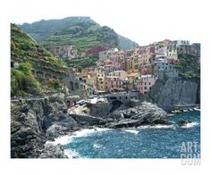 Cinque Terre Manarola Photographic Print by Marilyn Bast Dunlap at Art.com