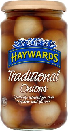 Haywards Pickled Onions are the best!