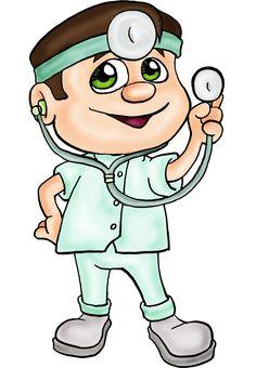 imagenes medicos caricaturas - Buscar con Google Medical Clip Art, Medical Symbols, Nurse Pics, Community Helpers, Rock Crafts, Digi Stamps, Clipart, Rock Art, Kids Learning