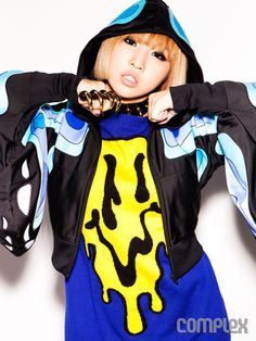 2NE1 MINZY Dresses Up in Jeremy Scott for Complex | Complex