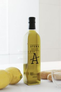 ATENA Olive Oil. Personal project of product design by Vladimir Pospelov