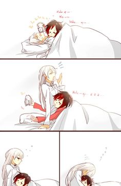 Ruby X Weiss White Rose