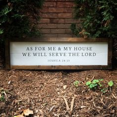 As For Me and My House We Will Serve The Lord  by LoveItAgainbyVE