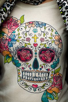 Calaveras mejicanas en mi blog de moda www.notamistake.co / mexican skulls in my fashion blog www.notamistake.co