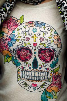 Calaveras mejicanas en mi blog de moda www.notamistake.co / mexican skulls in my fashion blog www.notamistake.co