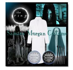 """SAMARA MORGAN COSTUME"" by marielecastan ❤ liked on Polyvore featuring Morgan and Japonesque"