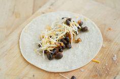 Baked Black Bean Taquitos — Punchfork