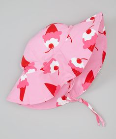 i play Light Pink Ice Cream Sunhat Baby Swimwear, Baby Girl Fashion, Sun Hats, Ava, Little Girls, Ice Cream, Take That, Babies, Pink