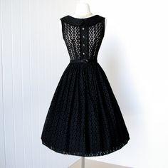 vintage 1950's dress <3