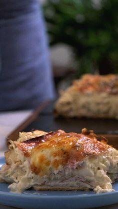 Torta cremosa de pão de forma, ideal para dividir com a galera!