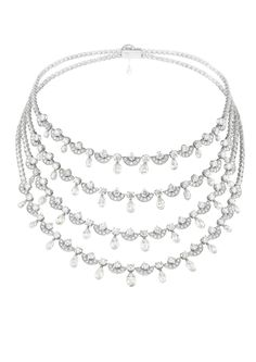 Chopard - A splendid diamond necklace. That's the description used by Chopard to describe this necklace.  And it truly is.