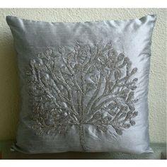 "Luxury Silver Euro Shams Covers, 26""x26"" Euro Pillow, Bea... https://www.amazon.com/dp/B004W0FCSE/ref=cm_sw_r_pi_awdb_x_7NjLyb4VXBSBZ"
