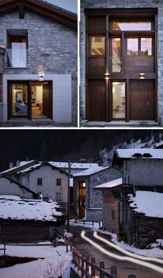 Remix House: Rustic Originality Meets Honest Regionalism  This remote Italian project was designed byEs Arc Architecture