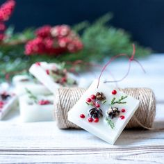 Christmas Treat Bags, Christmas Diy, Crafts To Make, Diy Crafts, Decor Crafts, Christmas Tags Printable, Diy Advent Calendar, Different Holidays