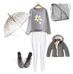 """Winter day ( by jade )"" by aysiaismej ❤ liked on Polyvore featuring 10 Crosby Derek Lam, Dr. Martens, ShedRain, Gap and Hollister Co."