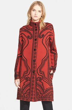 Etro+Paisley+Intarsia+Knit+Topper+available+at+#Nordstrom