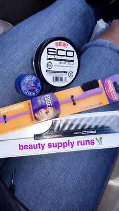 Natural Hair Care Tips, Curly Hair Tips, Curly Hair Care, Curly Hair Styles, Natural Hair Styles, Natural Skin, Edges Hair, Hair Essentials, Hair Supplies