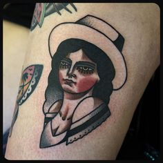 #cowgirl #tattoo #tattoos Done at @sbldnttt