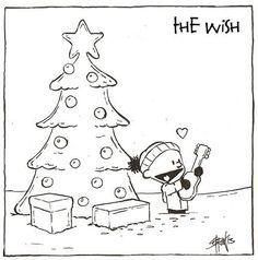 Bruce Springsteen Comics - The Wish - Soeren Juhl